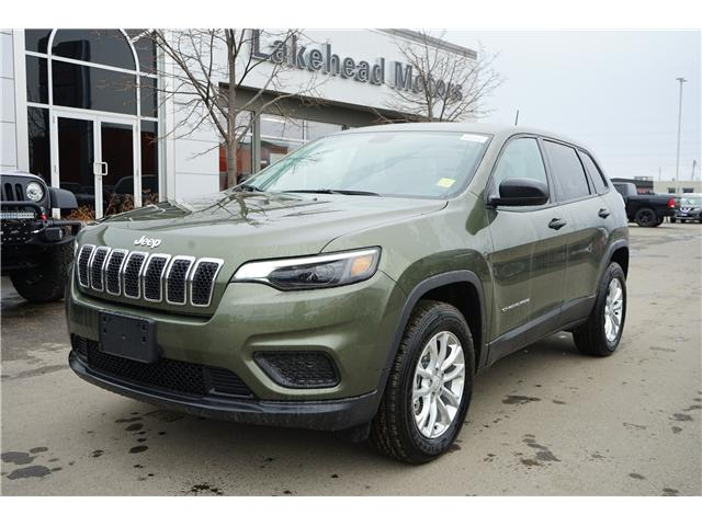 2019 Jeep Cherokee North (Stk: 191021) in Thunder Bay - Image 1 of 3