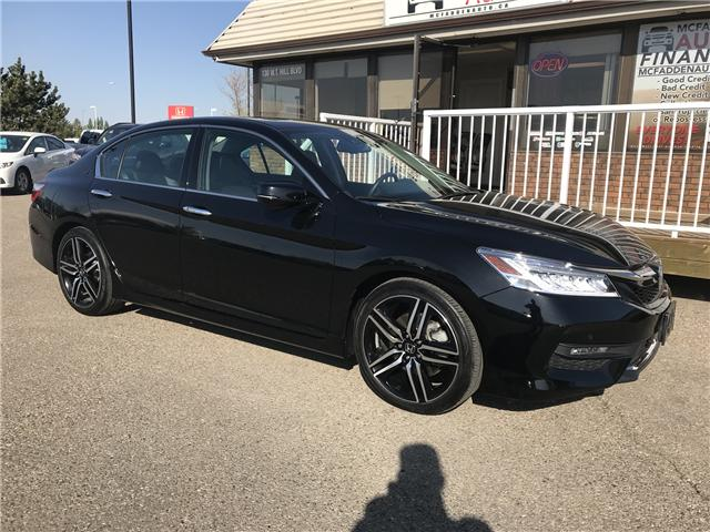 2017 Honda Accord Touring V6 (Stk: B1971) in Lethbridge - Image 1 of 26