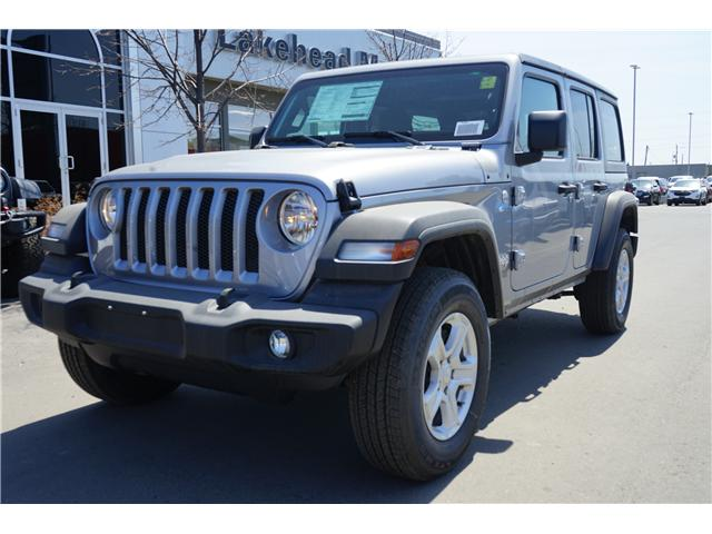 2018 Jeep Wrangler Unlimited Sport (Stk: 181448) in Thunder Bay - Image 1 of 5