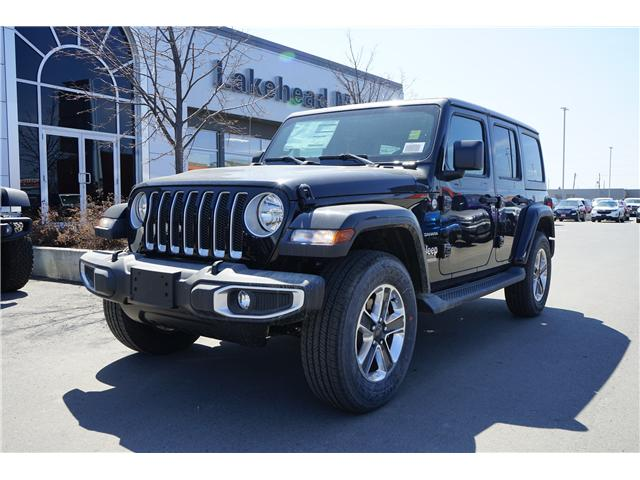 2018 Jeep Wrangler Unlimited Sport (Stk: 181449) in Thunder Bay - Image 1 of 4