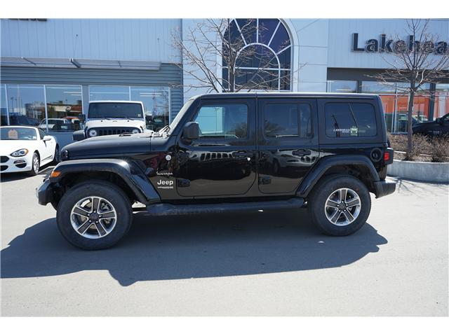 2018 Jeep Wrangler Unlimited Sport (Stk: 181449) in Thunder Bay - Image 2 of 4