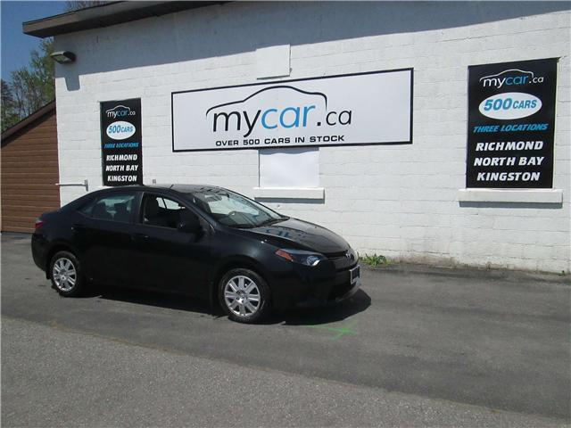 2014 Toyota Corolla LE (Stk: 180401) in Richmond - Image 2 of 13