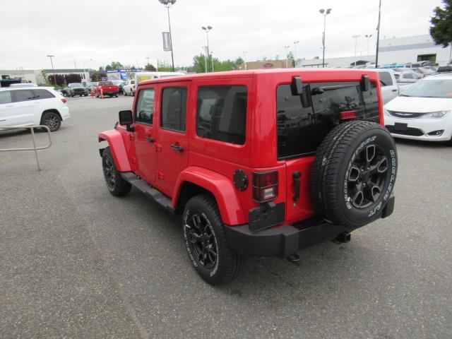 2018 Jeep Wrangler JK Unlimited Sahara (Stk: J893198) in Surrey - Image 3 of 14