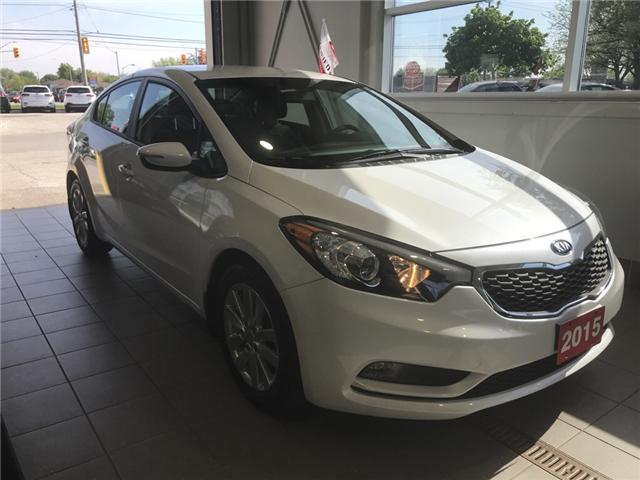 2015 Kia Forte 1.8L LX+ (Stk: KP0462) in Windsor - Image 1 of 10