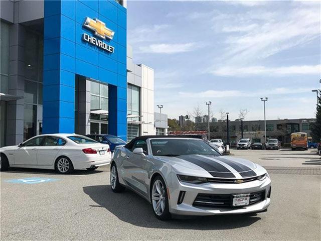 2018 Chevrolet Camaro 1LT (Stk: 8CA25950) in Vancouver - Image 2 of 7