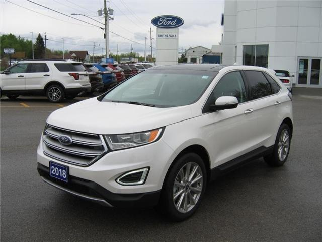 2018 Ford Edge Titanium (Stk: 18257) in Smiths Falls - Image 1 of 12