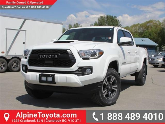 2018 Toyota Tacoma SR5 (Stk: X034044) in Cranbrook - Image 1 of 17