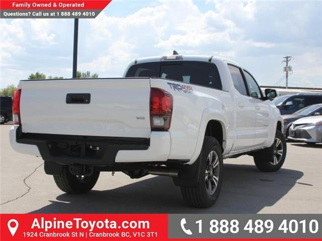 2018 Toyota Tacoma SR5 (Stk: X034044) in Cranbrook - Image 5 of 17