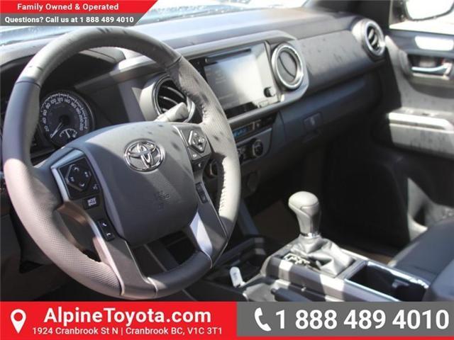 2018 Toyota Tacoma SR5 (Stk: X034074) in Cranbrook - Image 9 of 18