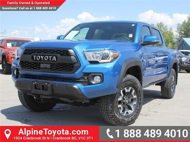 2018 Toyota Tacoma TRD Off Road (Stk: X141097) in Cranbrook - Image 1 of 18