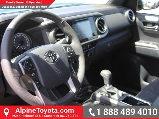 2018 Toyota Tacoma TRD Off Road (Stk: X141097) in Cranbrook - Image 9 of 18