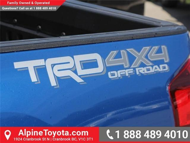 2018 Toyota Tacoma TRD Off Road (Stk: X141097) in Cranbrook - Image 17 of 18