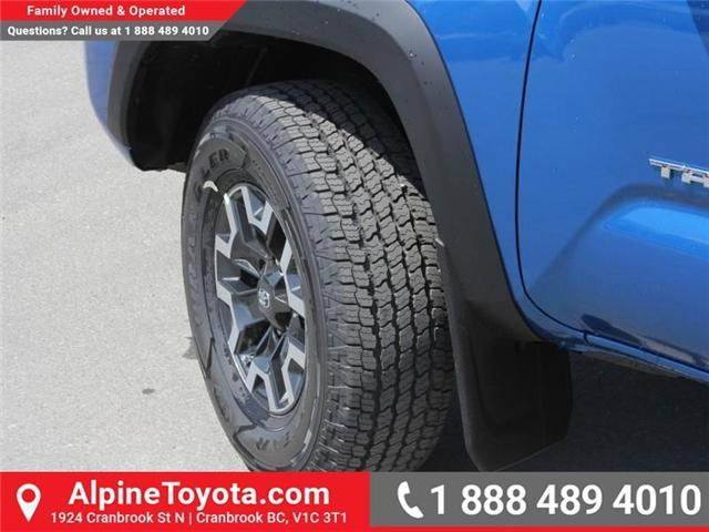 2018 Toyota Tacoma TRD Off Road (Stk: X141097) in Cranbrook - Image 18 of 18