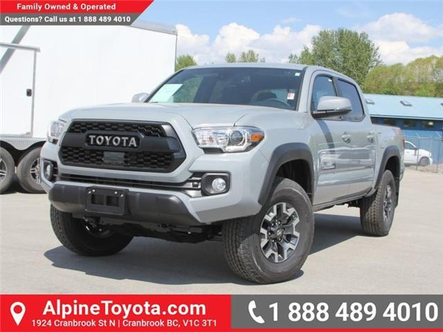 2018 Toyota Tacoma TRD Off Road (Stk: X141605) in Cranbrook - Image 1 of 18
