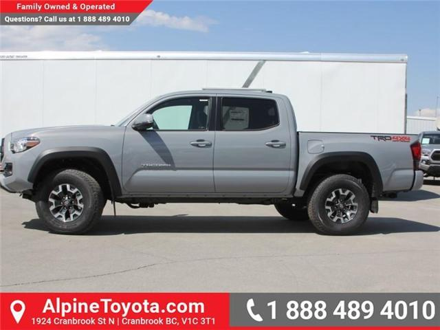 2018 Toyota Tacoma TRD Off Road (Stk: X141605) in Cranbrook - Image 2 of 18