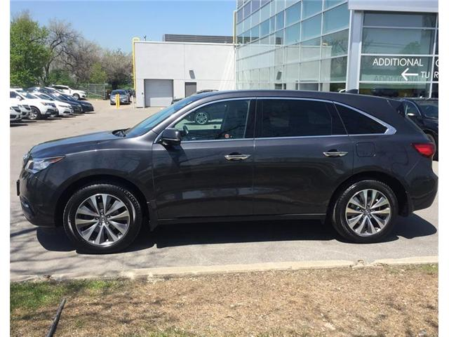 2014 Acura MDX Technology Package (Stk: 506216P) in Brampton - Image 2 of 3
