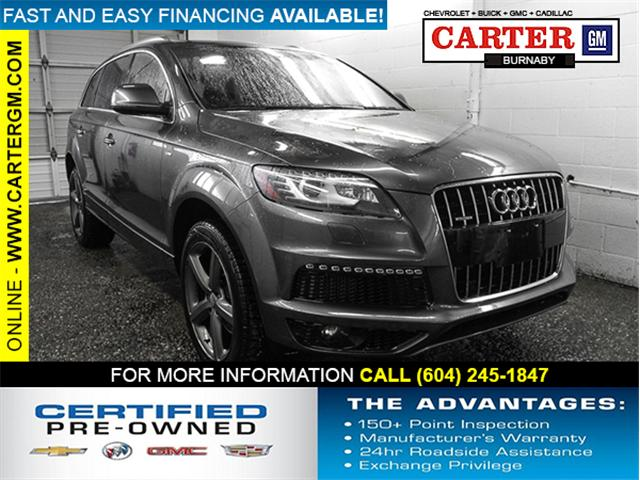 2015 Audi Q7 3.0 TDI Vorsprung Edition (Stk: 87-97211) in Burnaby - Image 1 of 27