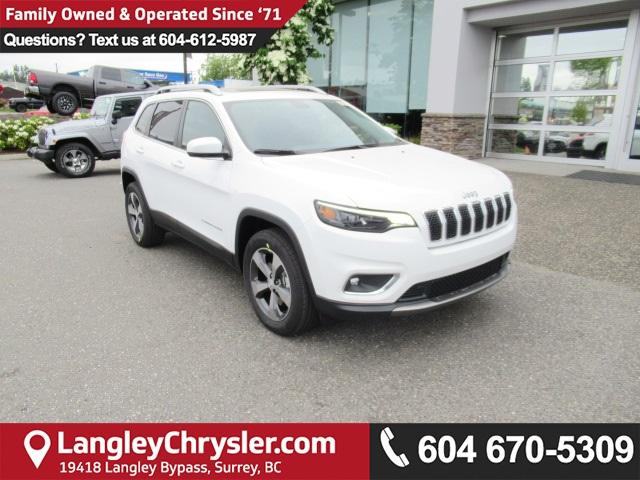 2019 Jeep Cherokee Limited (Stk: K188026) in Surrey - Image 1 of 16