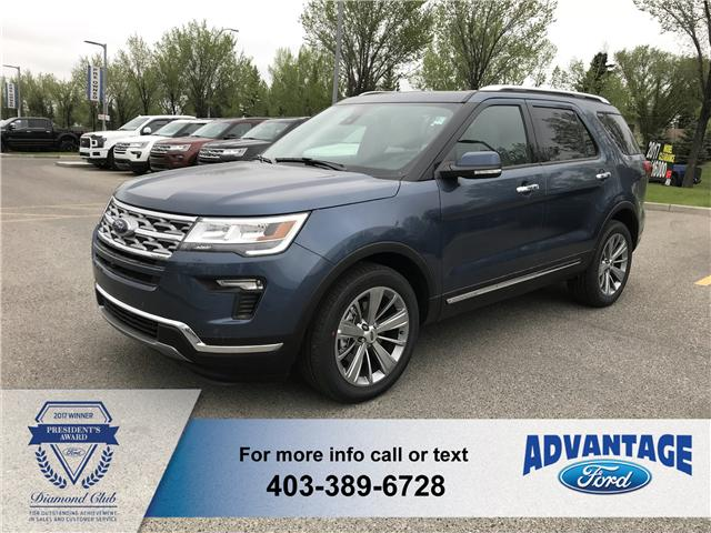 2018 Ford Explorer Limited (Stk: J-806) in Calgary - Image 1 of 5