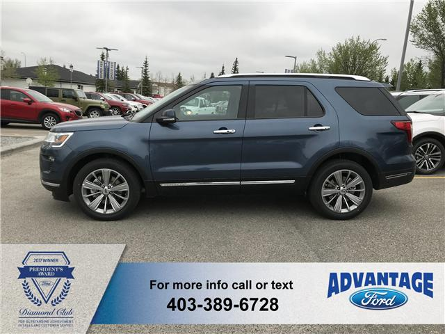 2018 Ford Explorer Limited (Stk: J-806) in Calgary - Image 2 of 5