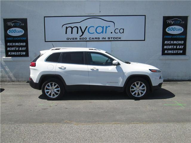 2014 Jeep Cherokee Limited (Stk: 180547) in North Bay - Image 1 of 13