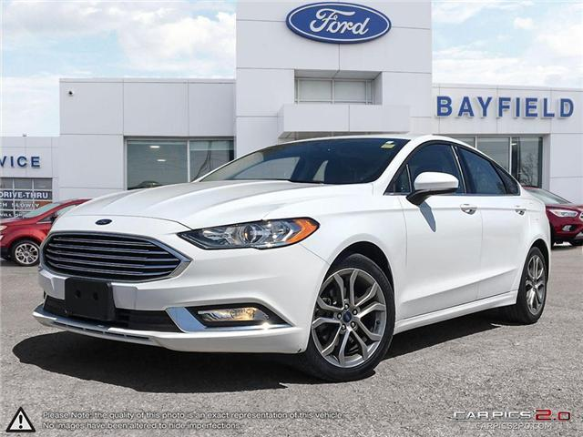 2017 Ford Fusion SE (Stk: P8420) in Barrie - Image 1 of 24