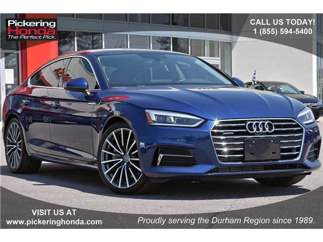 2018 Audi A5 2.0T Technik (Stk: T448A) in Pickering - Image 1 of 28