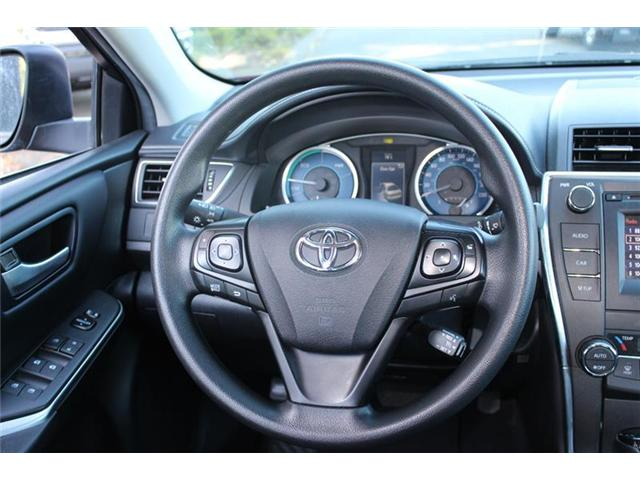 2017 Toyota Camry Hybrid  (Stk: P2076) in Courtenay - Image 11 of 25