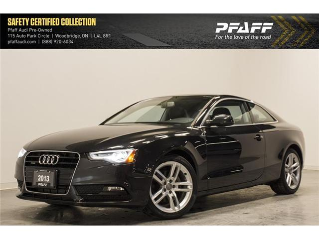 2013 Audi A5 2.0T Premium (Stk: T14369A) in Vaughan - Image 1 of 13