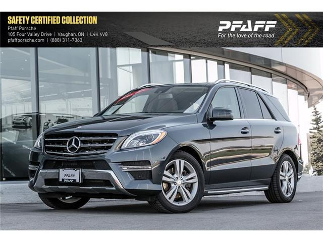 2013 Mercedes-Benz ML350 BlueTEC 4MATIC (Stk: P12628A) in Vaughan - Image 1 of 15