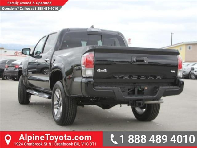 2018 Toyota Tacoma Limited (Stk: X144829) in Cranbrook - Image 3 of 19