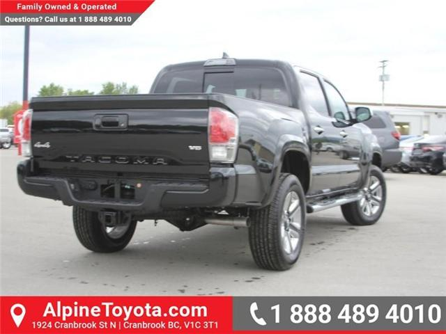 2018 Toyota Tacoma Limited (Stk: X144829) in Cranbrook - Image 5 of 19