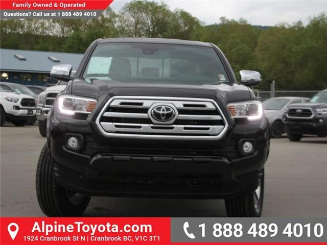 2018 Toyota Tacoma Limited (Stk: X144829) in Cranbrook - Image 8 of 19