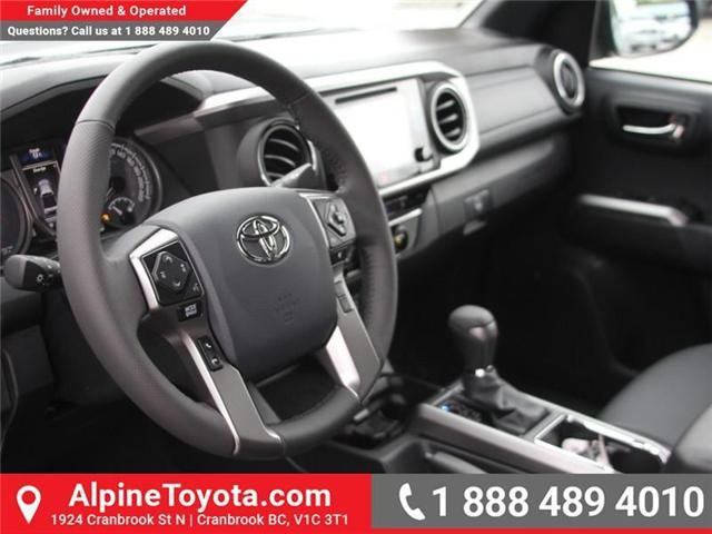 2018 Toyota Tacoma Limited (Stk: X144829) in Cranbrook - Image 9 of 19