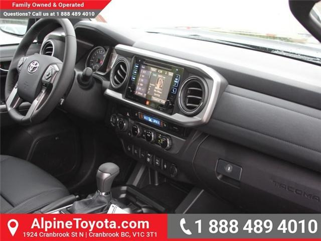 2018 Toyota Tacoma Limited (Stk: X144829) in Cranbrook - Image 11 of 19