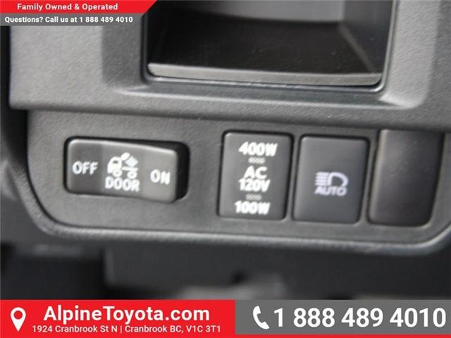 2018 Toyota Tacoma Limited (Stk: X144829) in Cranbrook - Image 16 of 19