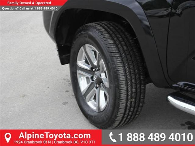 2018 Toyota Tacoma Limited (Stk: X144829) in Cranbrook - Image 19 of 19