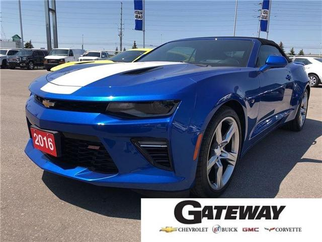2016 Chevrolet Camaro 2SS|CONVERTIBLE|V8|TWO TONE INT| (Stk: 100260A) in BRAMPTON - Image 1 of 20