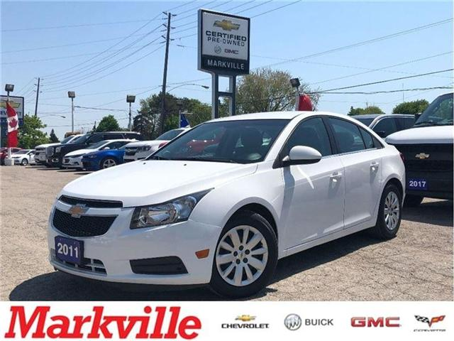 2011 Chevrolet Cruze LT- GM CERTIFIED PRE-OWNED- TRADE-IN (Stk: 610923A) in Markham - Image 1 of 24