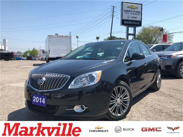 2014 Buick Verano LEATHER PKG-GM CERTIFIED PRE-OWNED- 1 OWNER TRADE (Stk: 131656A) in Markham - Image 1 of 19