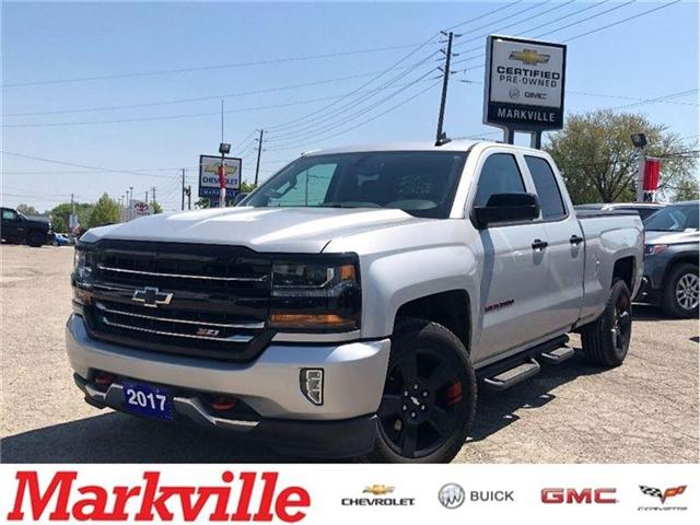 2017 Chevrolet Silverado 1500 2LT-GM CERTIFIED PRE-OWNED-1 OWNER TRADE! (Stk: 292500A) in Markham - Image 1 of 22