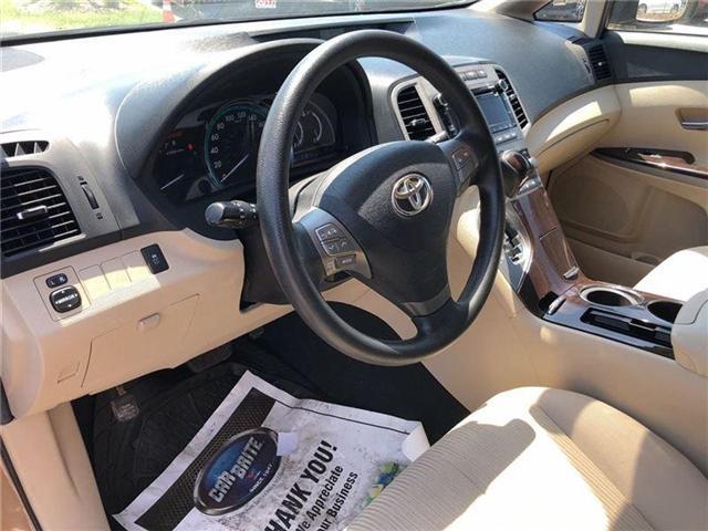 2011 Toyota Venza Base V6 (Stk: D181213A) in Mississauga - Image 10 of 14