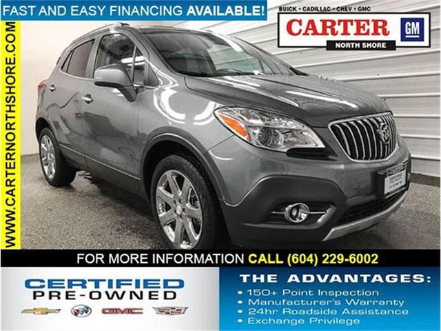 2013 Buick Encore Leather (Stk: 8K73701) in Vancouver - Image 1 of 26