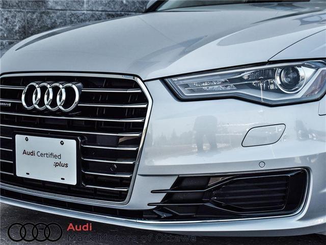 2016 Audi A6 2.0T Progressiv (Stk: 90118A) in Nepean - Image 8 of 27