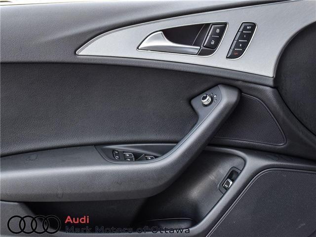 2016 Audi A6 2.0T Progressiv (Stk: 90118A) in Nepean - Image 11 of 27