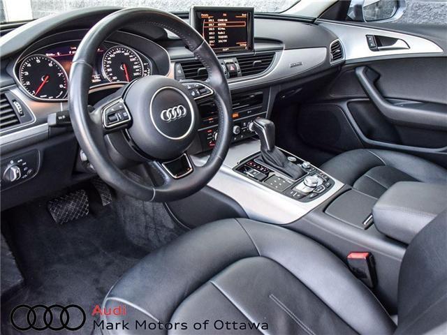 2016 Audi A6 2.0T Progressiv (Stk: 90118A) in Nepean - Image 12 of 27