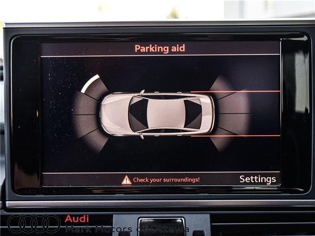 2016 Audi A6 2.0T Progressiv (Stk: 90118A) in Nepean - Image 19 of 27