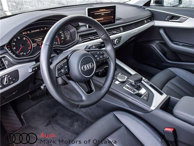 2017 Audi A4 2.0T Progressiv (Stk: 89577) in Nepean - Image 11 of 26