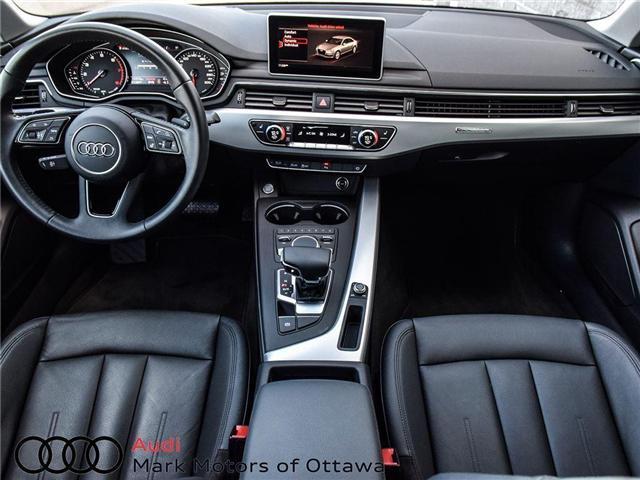 2017 Audi A4 2.0T Progressiv (Stk: 89577) in Nepean - Image 14 of 26