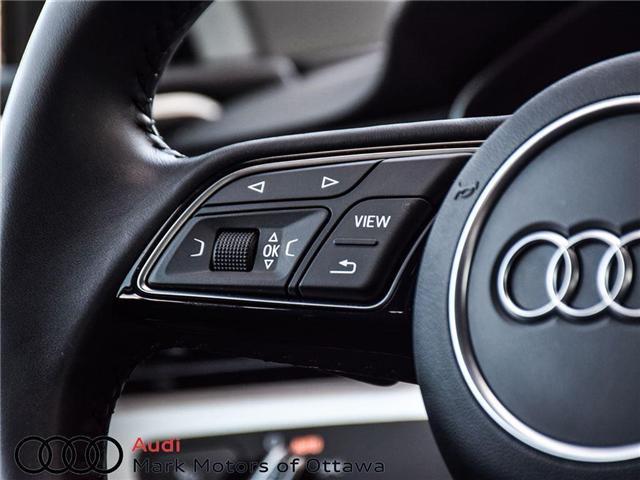 2017 Audi A4 2.0T Progressiv (Stk: 89577) in Nepean - Image 16 of 26